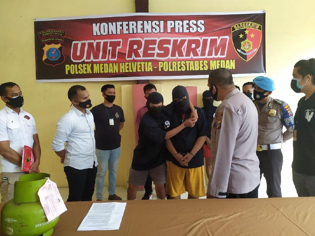 Beraksi Belasan Kali, 2 Pencuri Spesialis Bobol Rumah di Medan Ditangkap