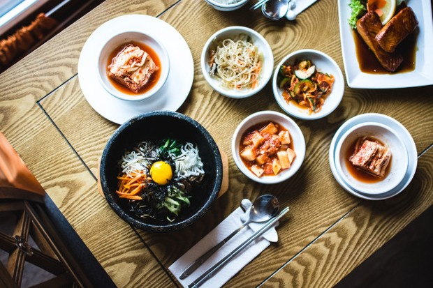 Korean Set Table
