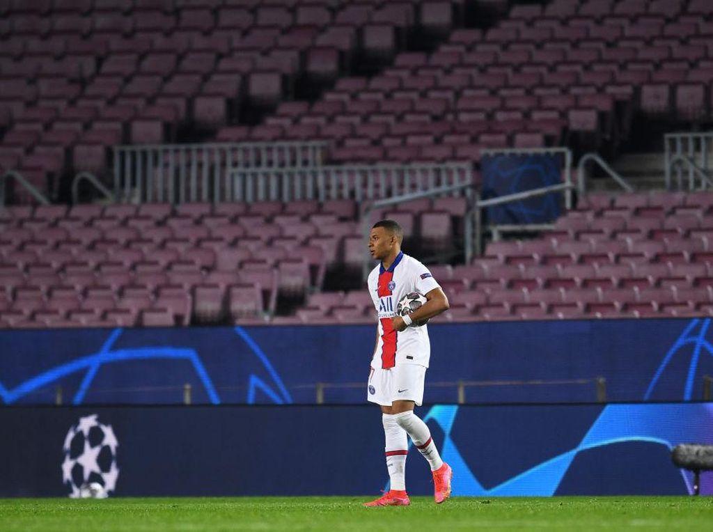 Mbappe Hat-trick ke Gawang Barca, Akan Selevel Messi-Ronaldo