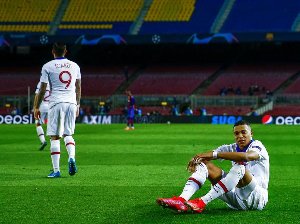 Mbappe Masih Muda, tapi Sudah Taklukkan Stadion-stadion Besar Eropa