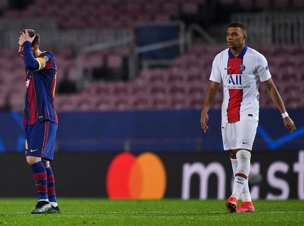 Lagi! Mbappe Bikin Malu Messi
