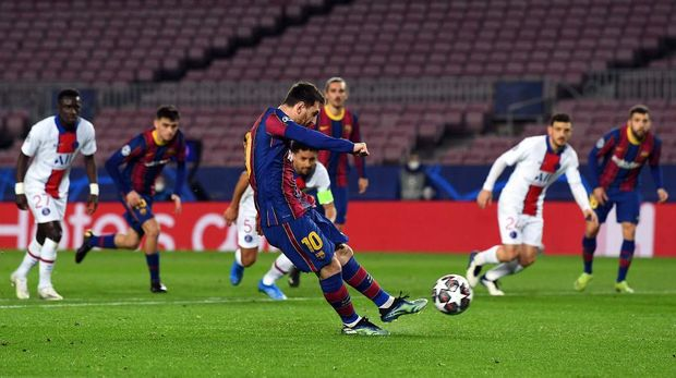 Barcelona Vs PSG: Mbappe Hat-trick, Les Parisiens Menang Telak 4-1