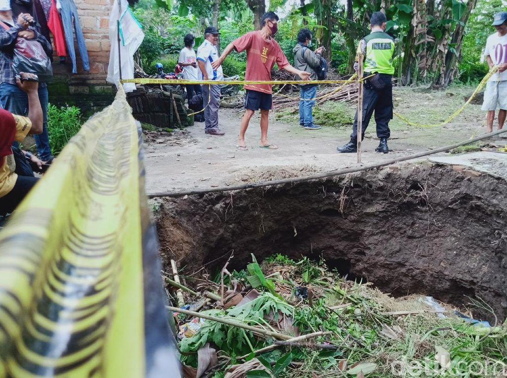 Ada Dentuman di Bawah Tanah Saat Sumur-sumur di Klaten Ambles