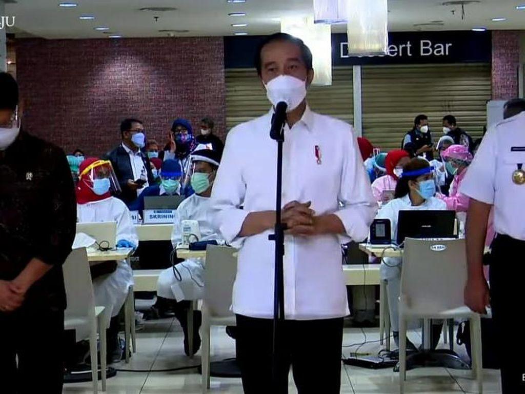 Jokowi Klaim PPKM Skala Mikro Efektif Lawan Covid-19