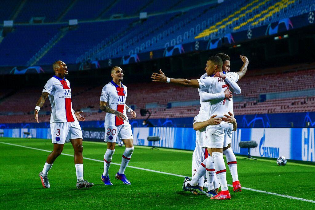 Paris Saint-Germain berhasil mengalahkan Barcelona di Camp Nou, Rabu (17/2/2021) dini hari WIB. PSG menang dengan skor 4-1.