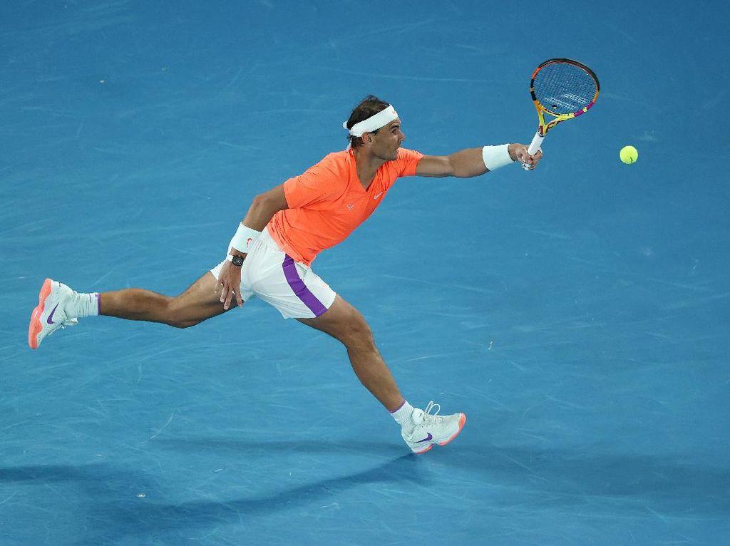 Australia Terbuka 2021: Nadal Tersingkir di Perempatfinal Usai Duel 5 Set