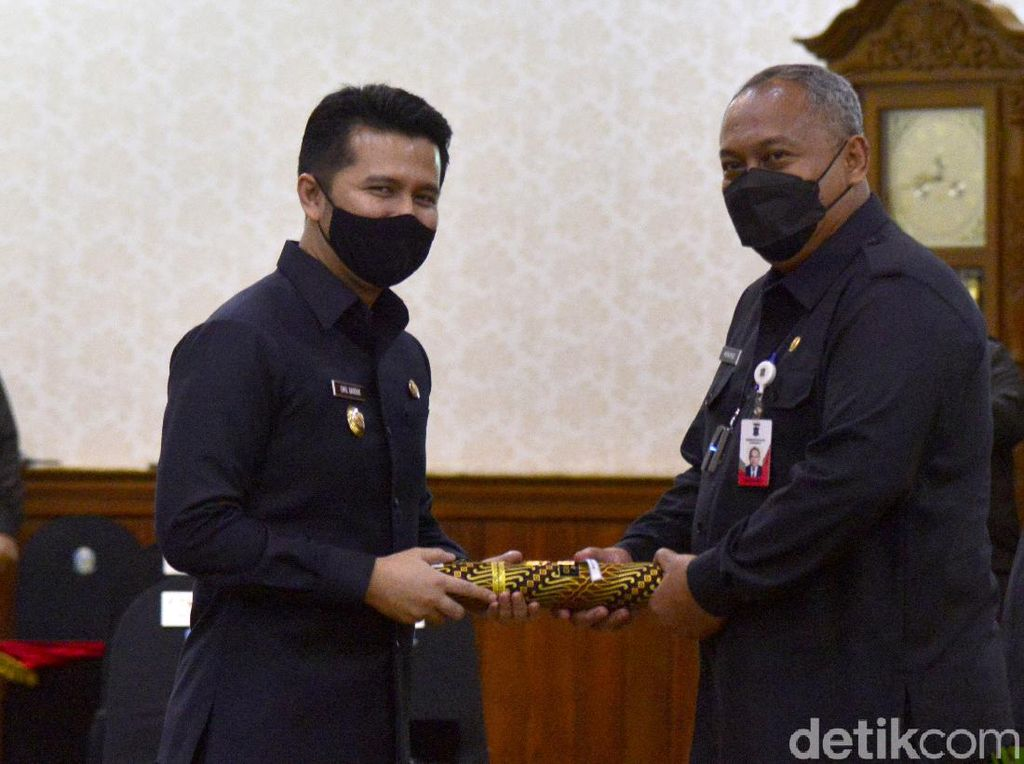 Ditunjuk Plh Wali Kota Surabaya, Sekda Hendro Pastikan Penanganan COVID Tetap Jalan