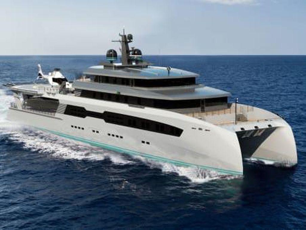 Rupa Kapal Bayangan, Penjaga Superyacht Tetap Bebas COVID-19