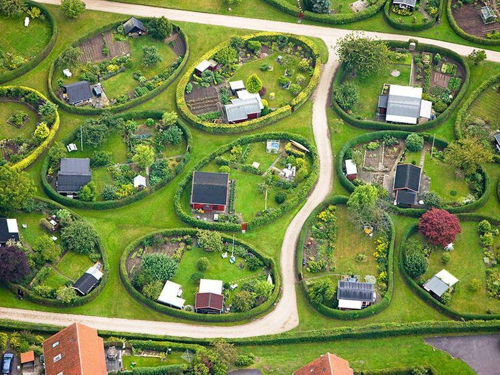 Perumahan Unik di Denmark, Kavling Berbentuk Oval
