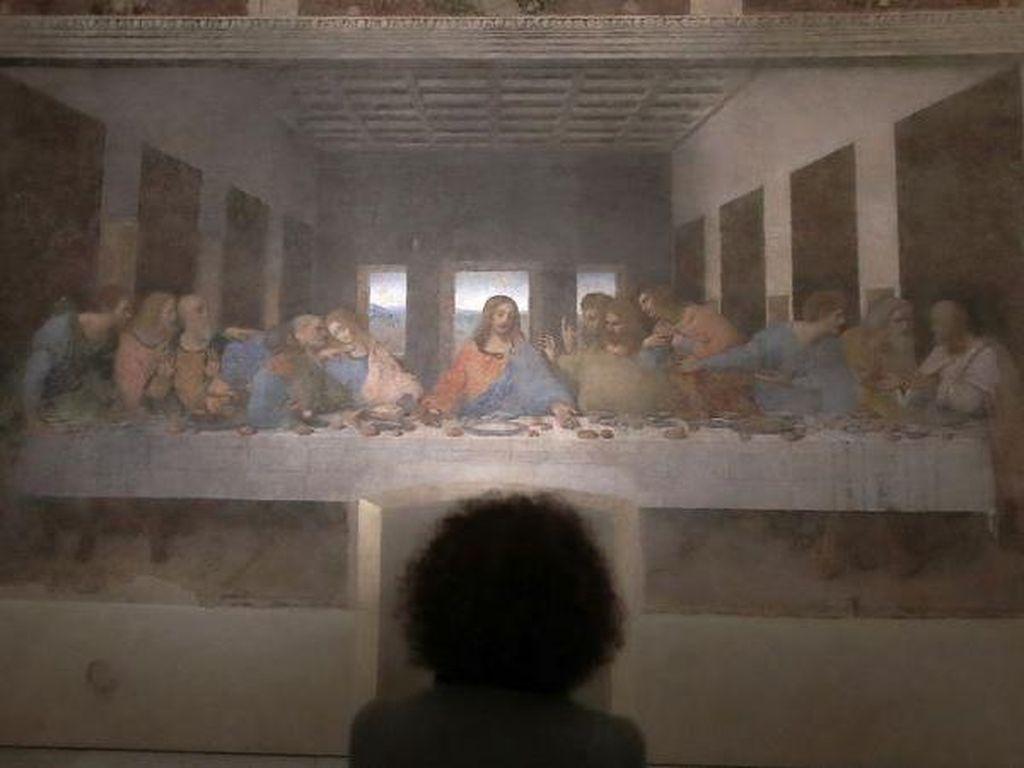 Lukisan The Last Supper Da Vinci Dipamerkan Lagi Meski Pandemi