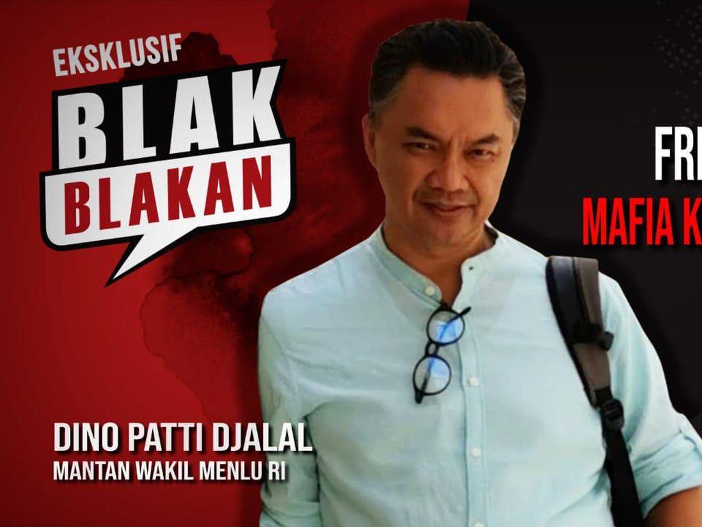 Dino Patti Djalal Blak-blakan Sebut Fredy Mafia Kelas Kolonel