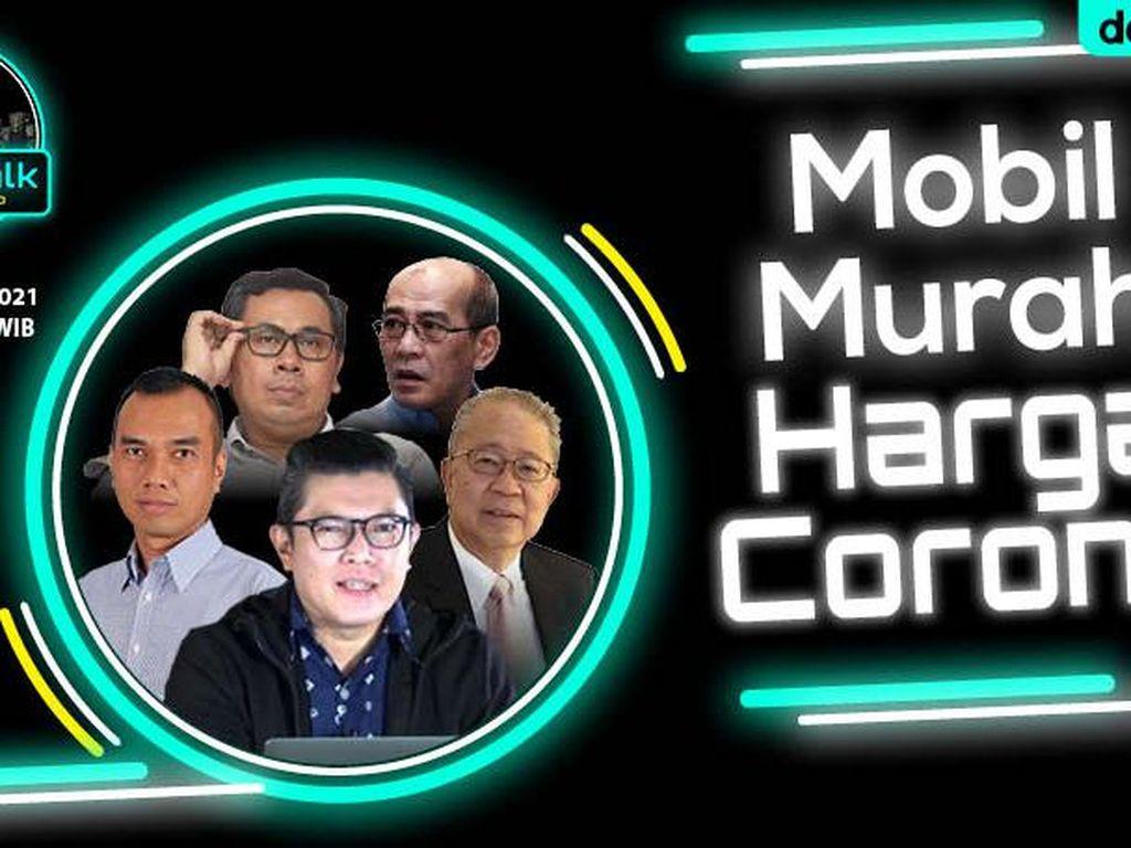 Live dRooftalk: Mobil Murah Harga Corona