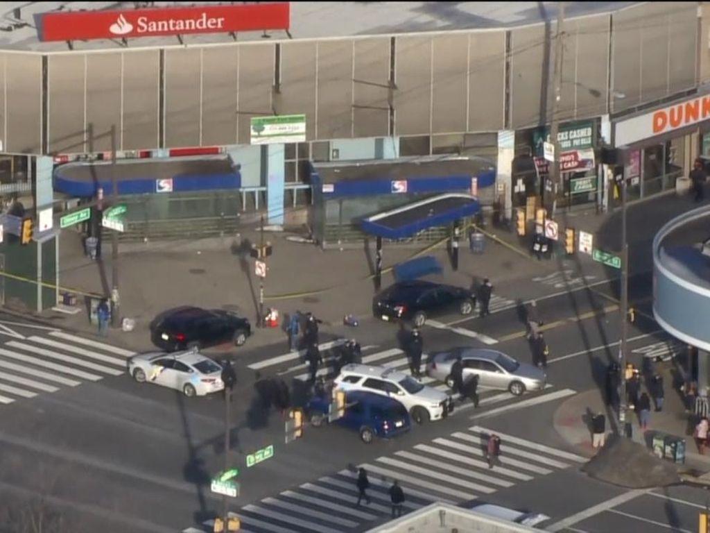 8 Orang Terluka dalam Penembakan di Dekat Stasiun Kereta Philadelphia
