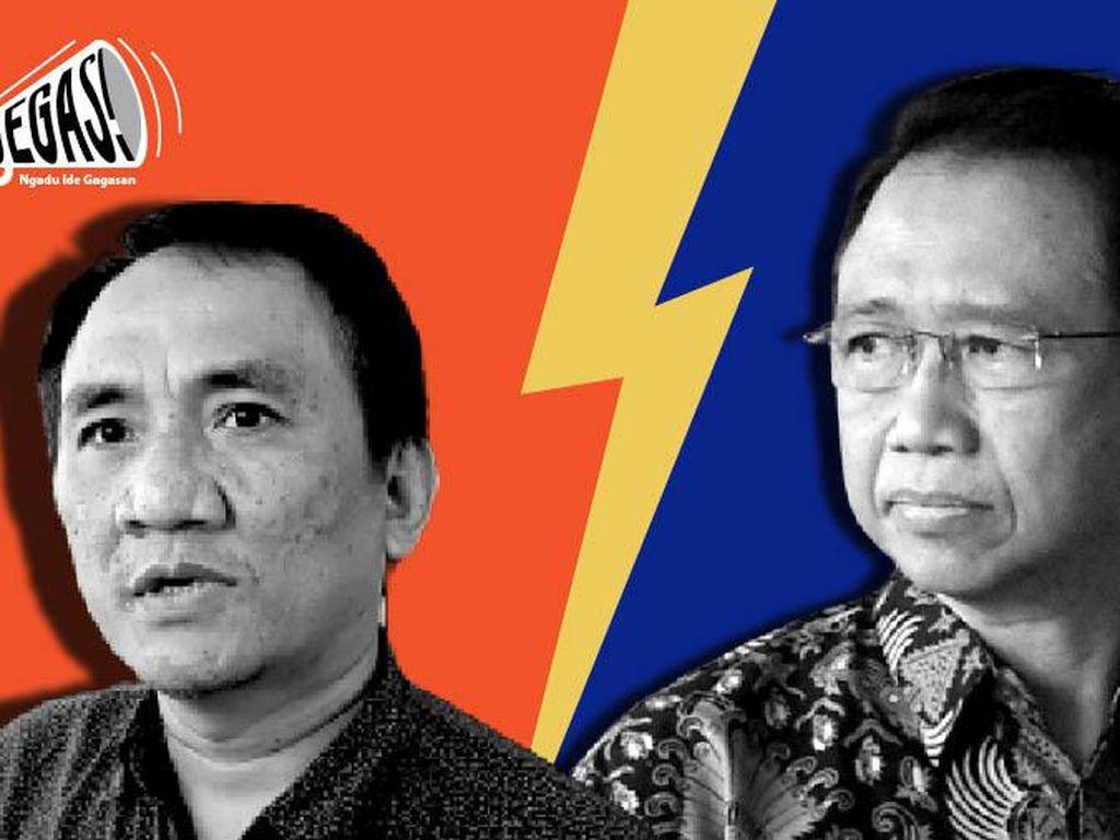 Marzuki Alie vs Andi Arief: Siap Sumpah Mubahalah!