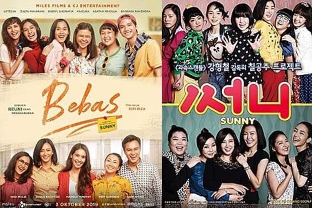 Bebas (kiri), Sunny (kanan) official poster / foto: wikipedia
