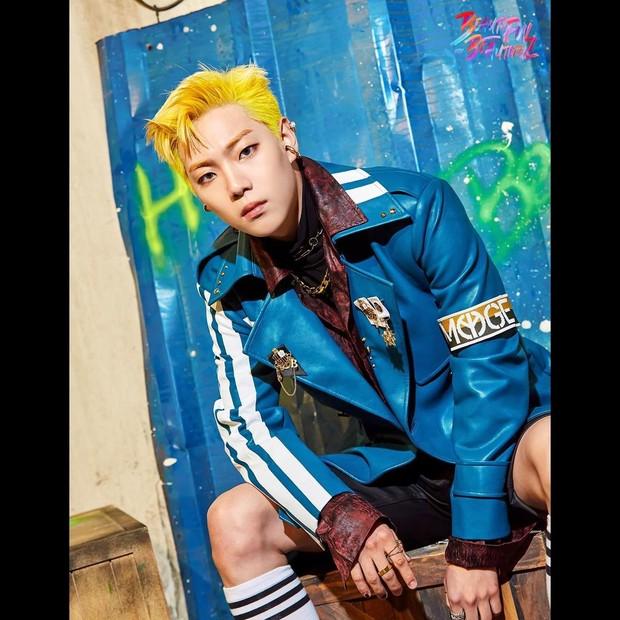 ONF membagikan foto teaser E-Tion untuk comeback terbaru