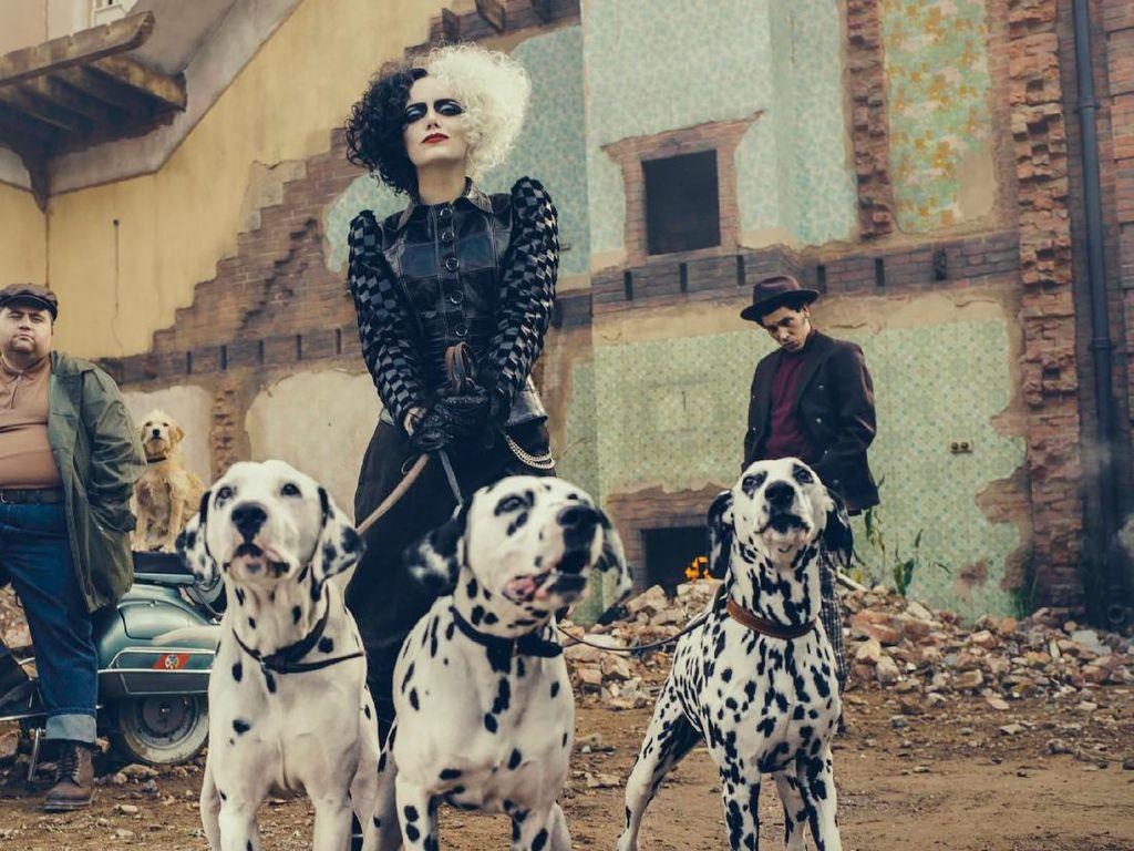Foto: Transformasi Emma Stone di Film Cruella, Hampir Tak Dikenali
