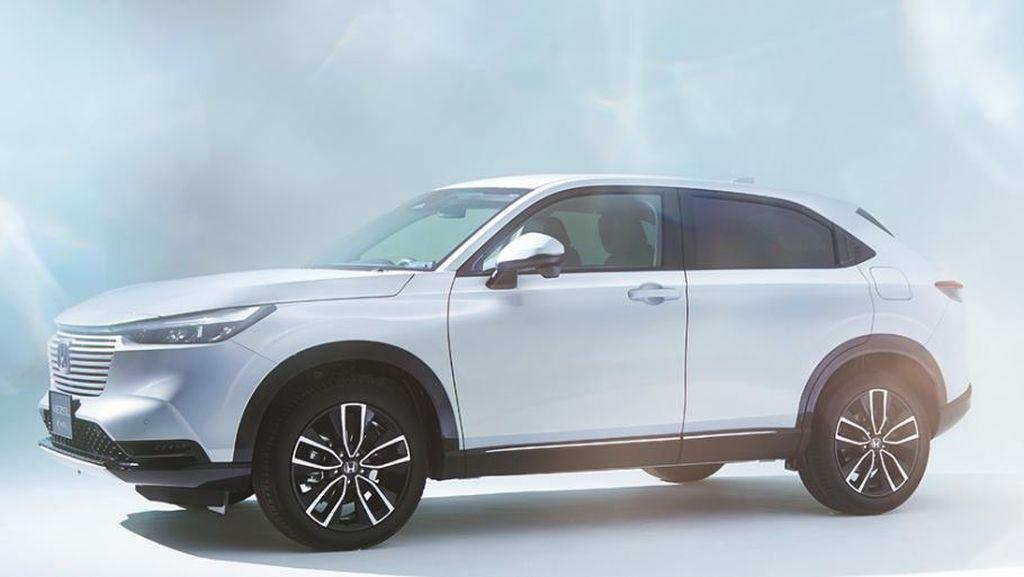 Begini Tampilan Baru Honda HR-V, Kini Pakai Mesin Hybrid