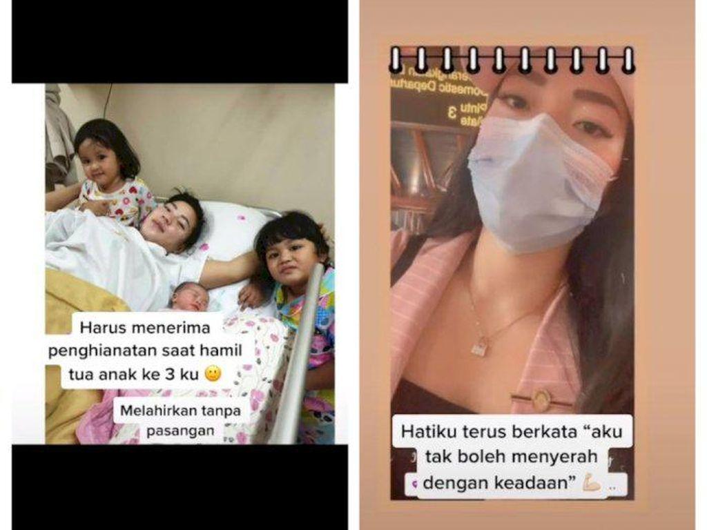 Viral Wanita Diselingkuhi Saat Hamil Tua, Kini Sukses Nafkahi 3 Anak Sendiri
