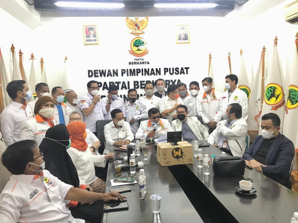 PTUN DKI Menangkan Tommy Soeharto Ketum Berkarya, Muchdi PR Bakal Banding