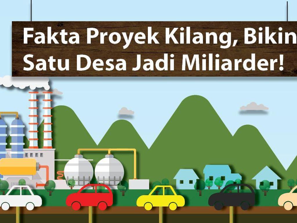 Proyek Kilang yang Bikin Satu Desa Jadi Miliarder!