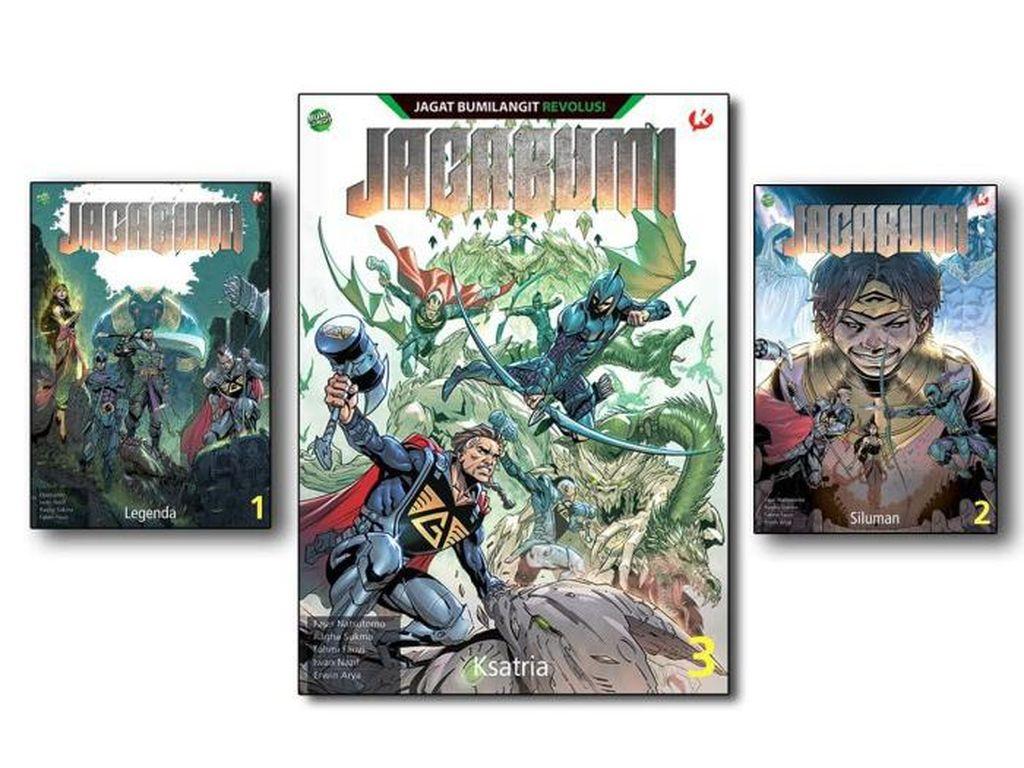 Pembaca Bumilangit! Komik Jagabumi Akan Terbit 4 Volume Tahun Ini