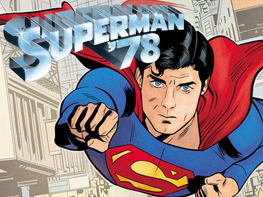 Superman Versi Christopher Reeve dari 40 Tahun Lalu Dirilis DC Comics