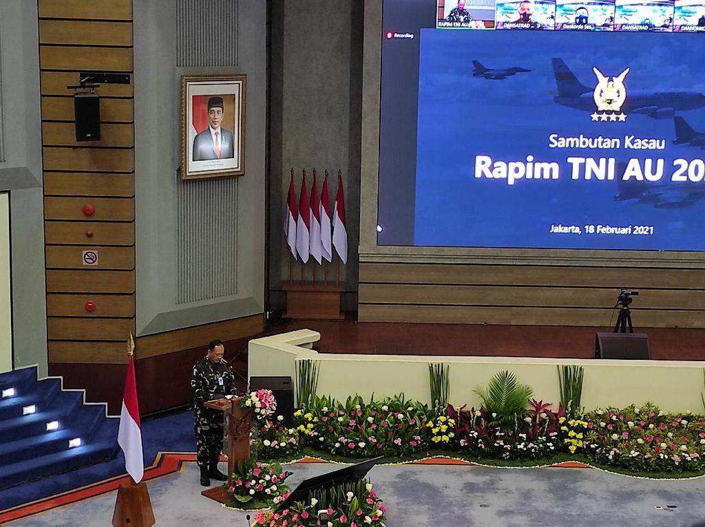 TNI AU Gelar Rapim 2021, Bahas Dukungan Penanganan COVID-19