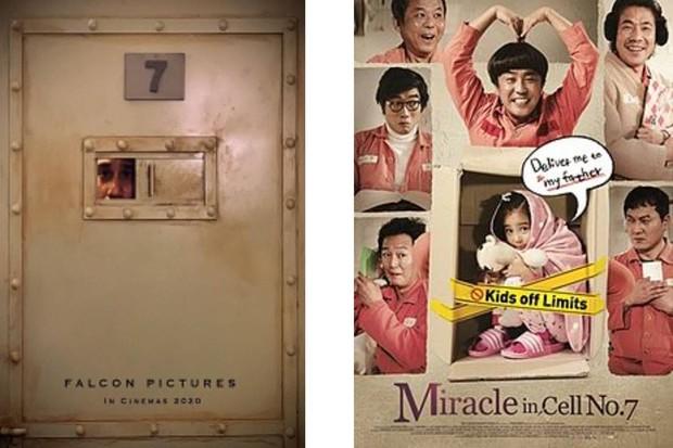 Miracle In Cell No,7 Indonesia (kiri), dan Korea (kanan) official poster / foto: wikipedia