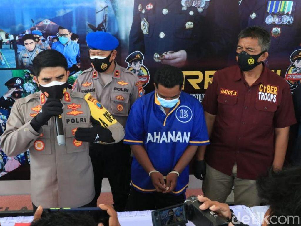 Pelaku Teror Alat Kelamin Guru Pesantren di Pasuruan Diamankan