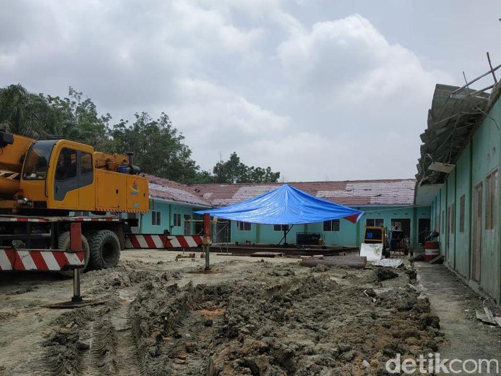 Pemprov Riau Tutup Pusat Semburan Gas di Pekanbaru, Target Selesai Pekan Ini