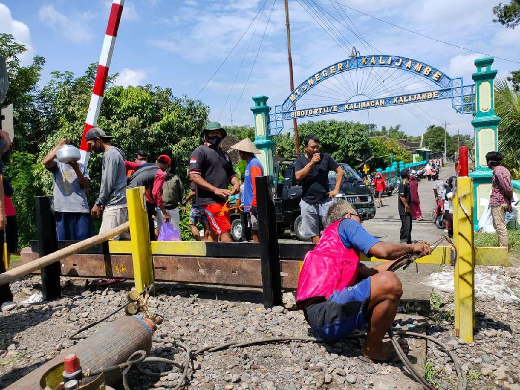 2 Bulan Ditutup, Perlintasan TKP KA Vs Mobil Patroli di Sragen Dibuka Lagi