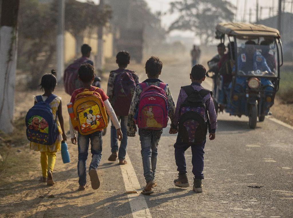 Ancaman Perdagangan-Eksploitasi Anak di Tengah Tsunami Corona India