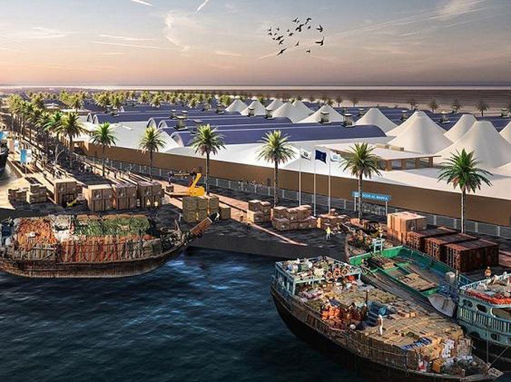 Mewah... Dubai Bangun Pusat Belanja Raksasa di Pinggir Pantai
