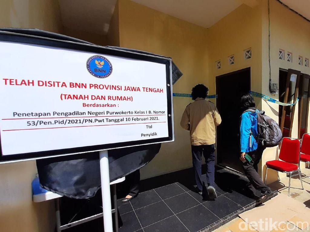 BNN Sita Aset Rumah-Murai Bandar Narkoba di Banyumas Senilai Rp 606 Juta