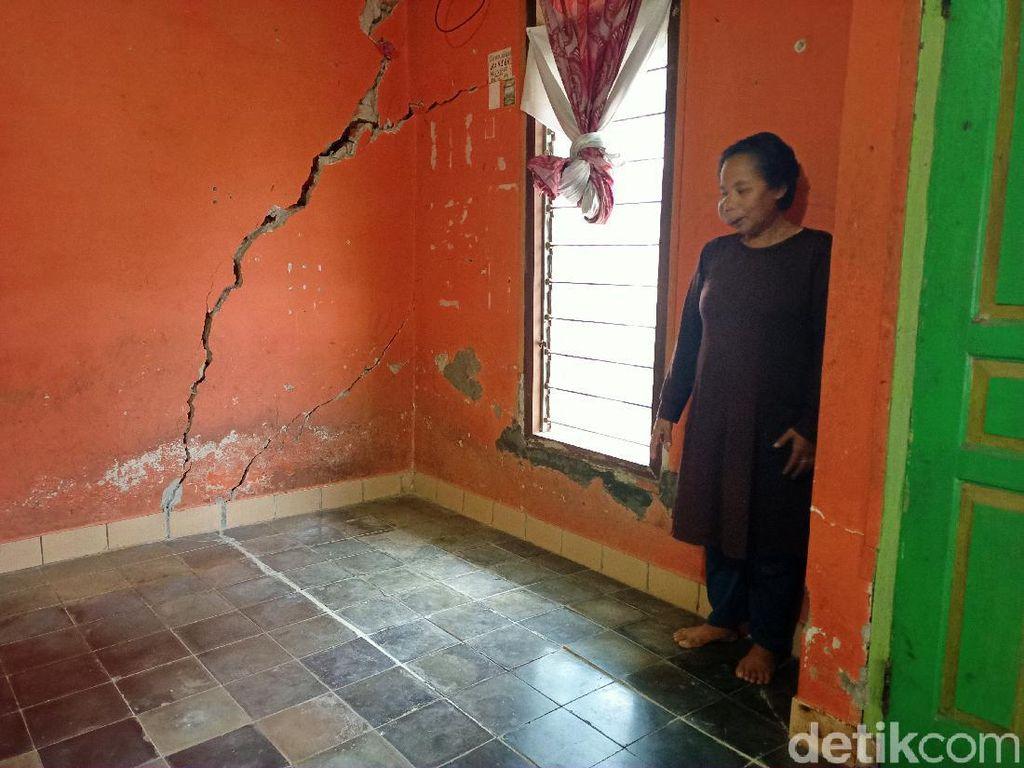 Pergerakan Tanah, 20 Rumah Warga di Kabupaten Bandung Rusak