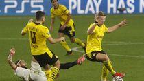 Haaland Brace, Dortmund Sikat Sevilla 3-2
