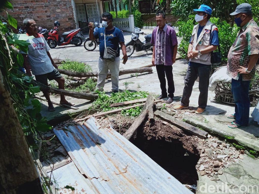 Belasan Sumur Ambles di Klaten, BPBD Ungkap Kejadian Sama di Kaki Kelud