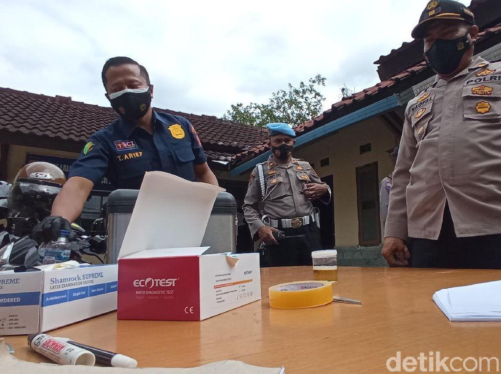 Buntut Kasus Kapolsek Astanaanyar, Polisi di Bandung Dites Urine