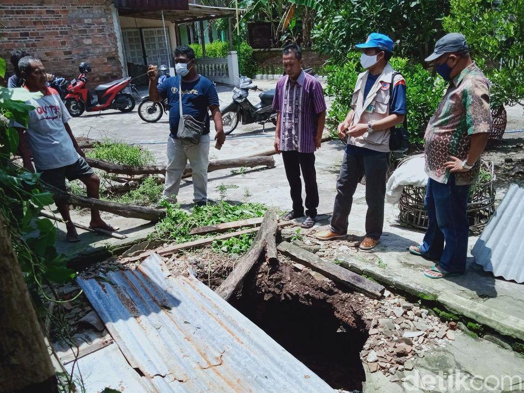 Tim ESDM Jateng Cek Belasan Sumur di Klaten yang Ambles, Ini Hasilnya