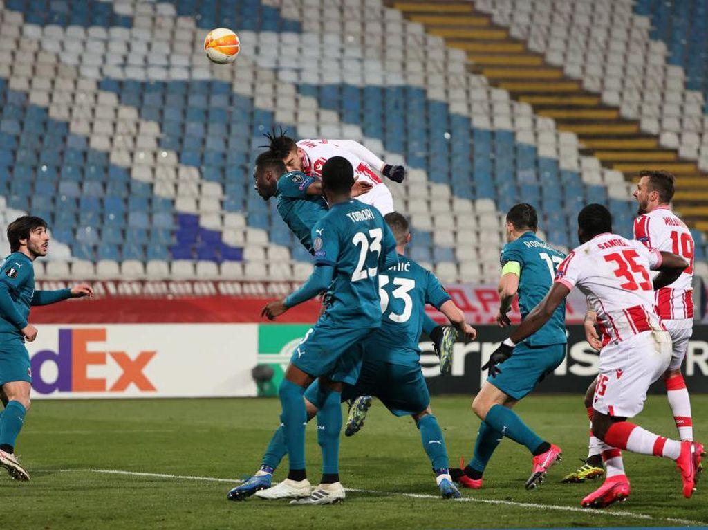 Red Star Vs Milan: Gol Menit Akhir Paksa Rossoneri Imbang 2-2