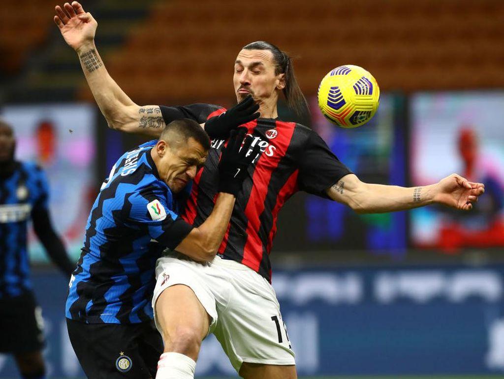10 Fakta AC Milan Vs Inter Milan