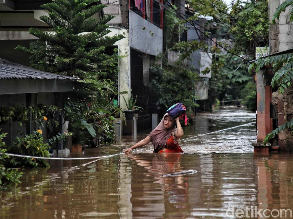 Fakta-fakta Banjir di Jakarta: dari Ketinggian hingga Data Curah Hujan