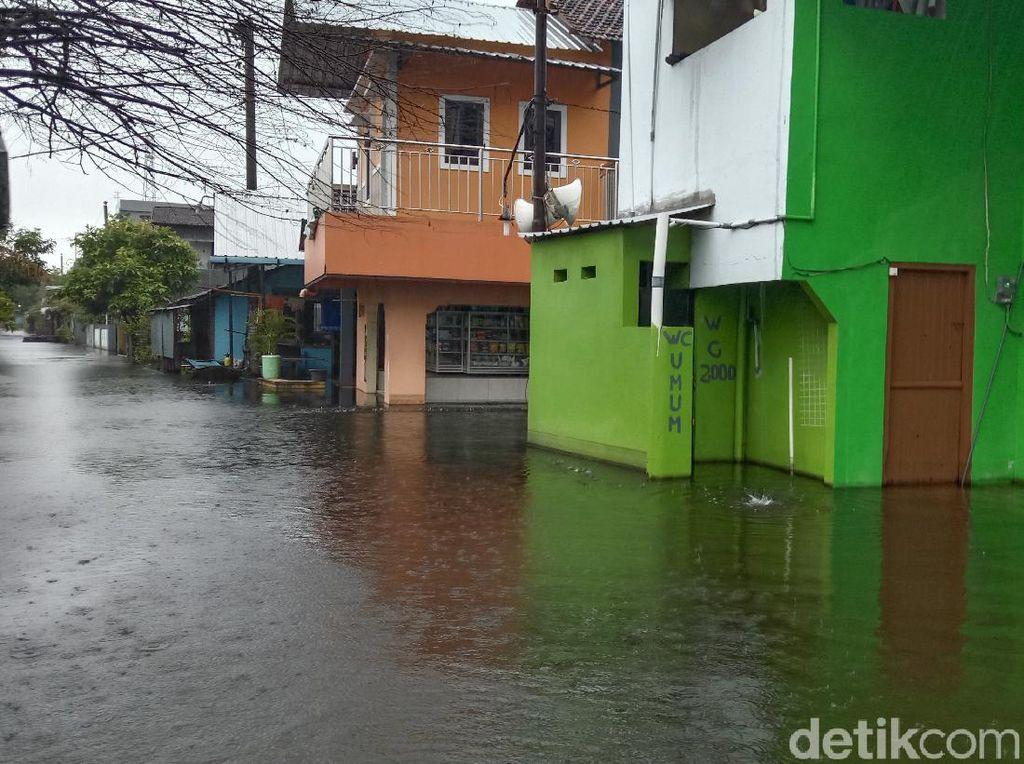 2 Pekan Lebih Belum Surut, Banjir di Kudus Kembali Meninggi
