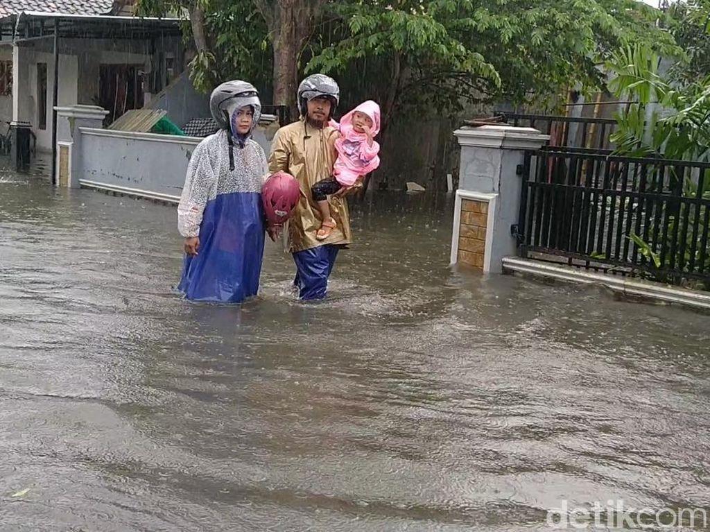 Kota Pekalongan Kebanjiran Lagi, 2.173 Jiwa Mengungsi