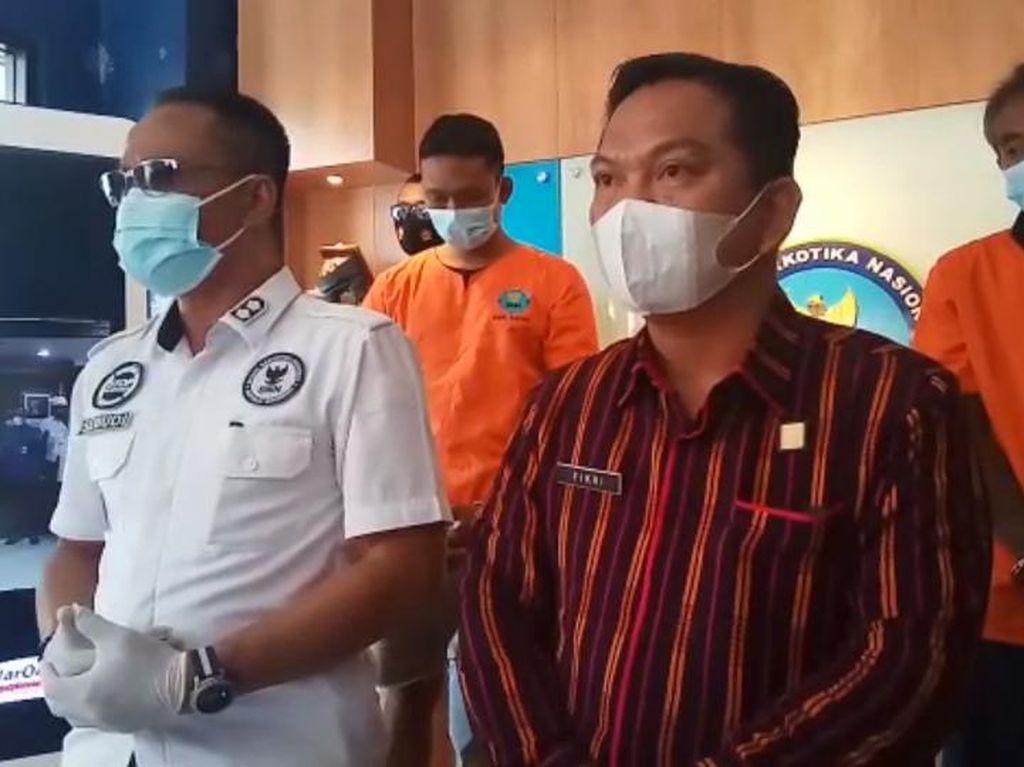 Trio Sindikat Sabu Jaringan Napi Lapas Kerobokan Diciduk BNNK Badung