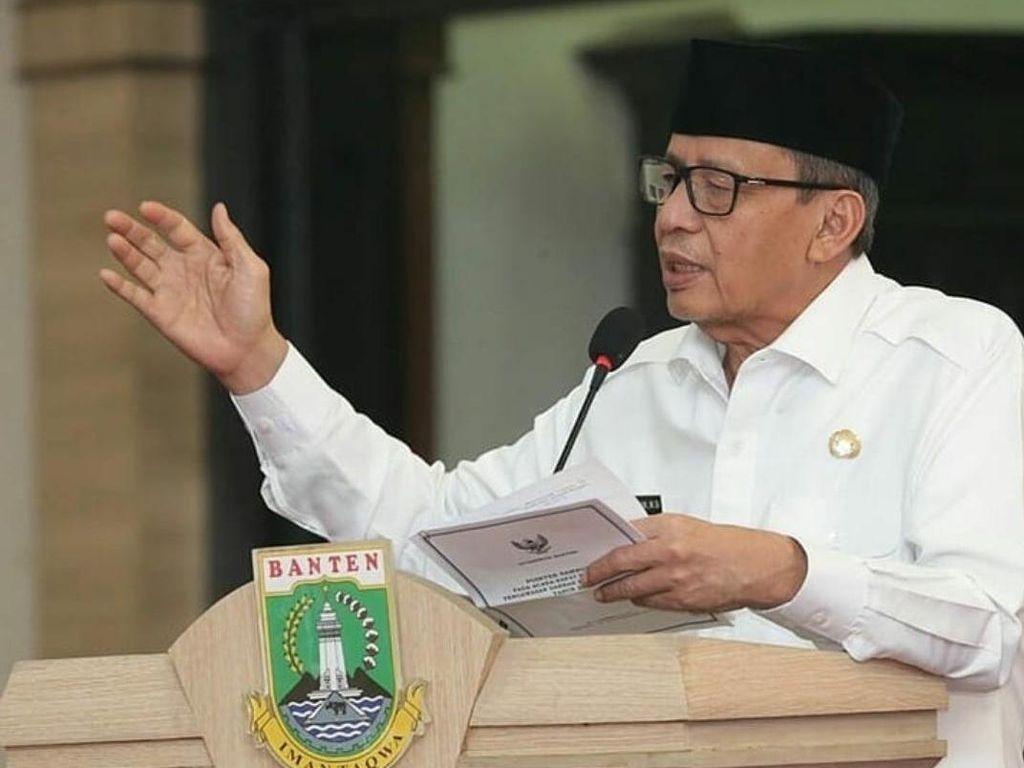Jaga Perasaan Rakyat, Gubernur Banten Tolak Honor Satgas COVID -19