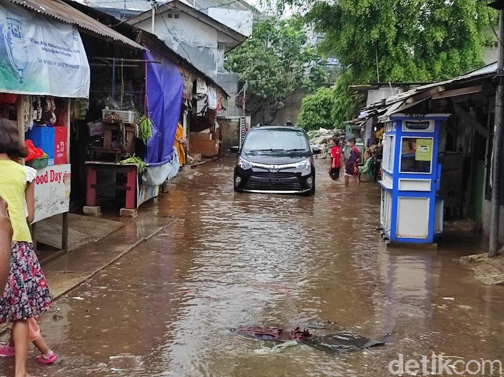 Cerita Warga Kemang Utara IX Jaksel Dua Hari Banjir Datang dan Pergi