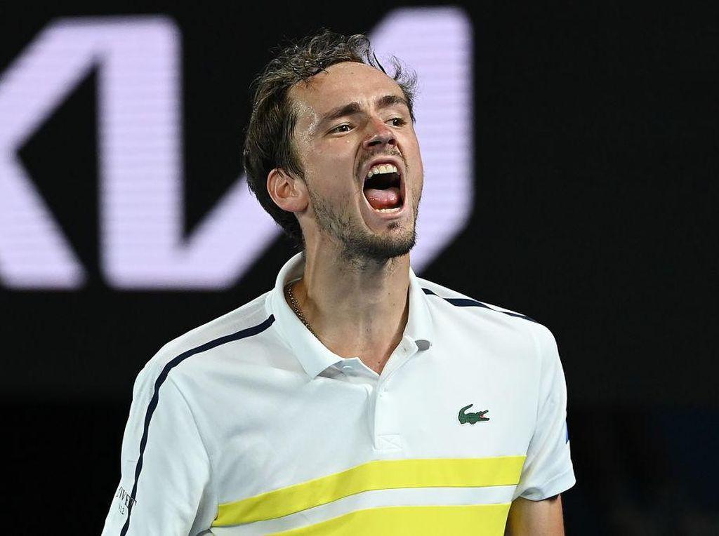Australia Terbuka 2021: Medvedev Tantang Djokovic di Final