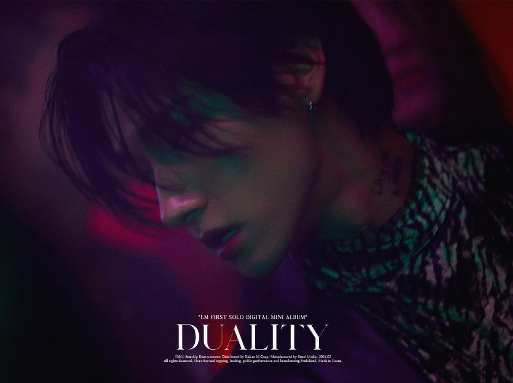 4 Fakta Album DUALITY Debut Solo I.M MONSTA X